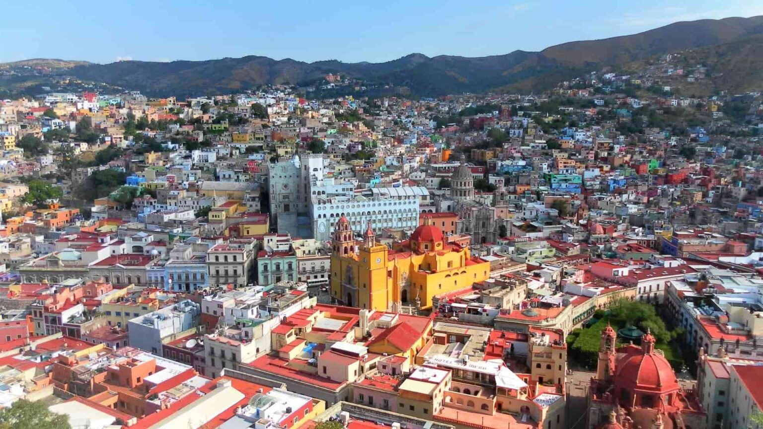 galerie photos voyage Mexique, la ville de Guanajuato