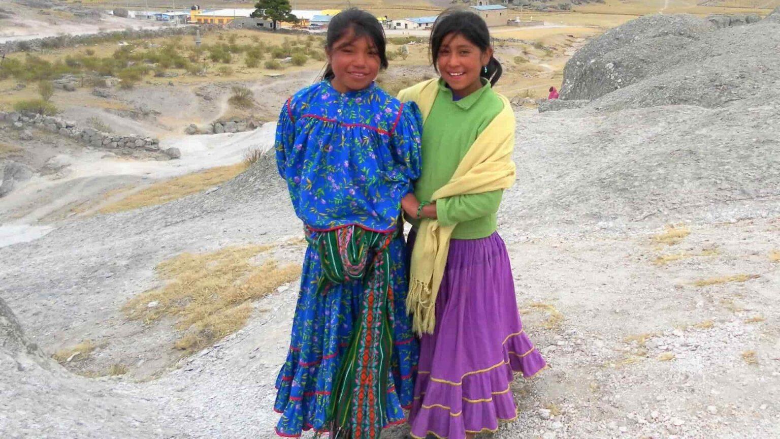 galerie photo voyage Mexique , enfants tarahumaras