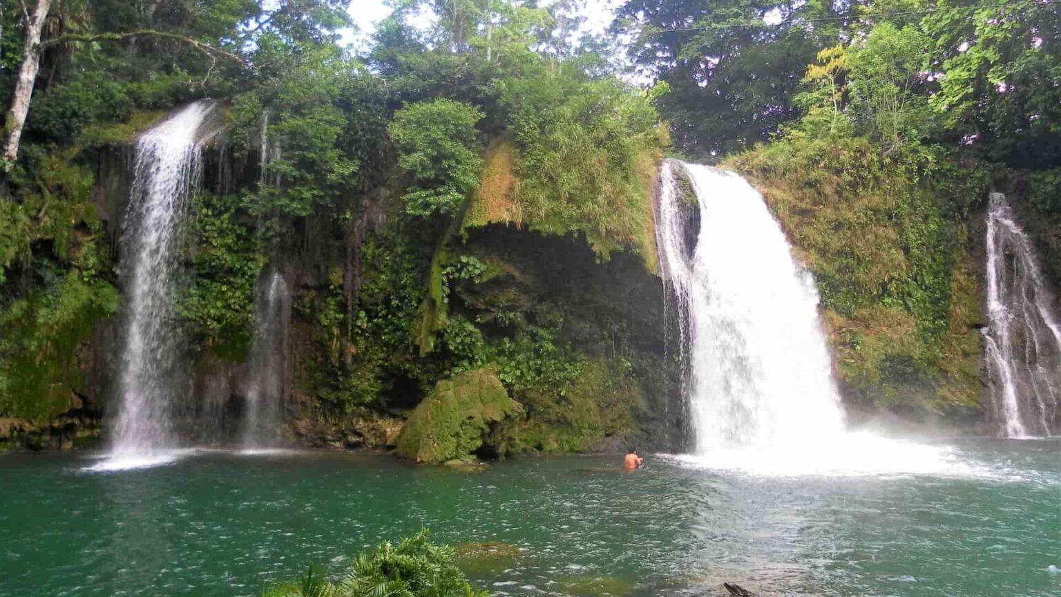 galerie photo voyage Mexique , cascades de Welib Ha au Chiapas