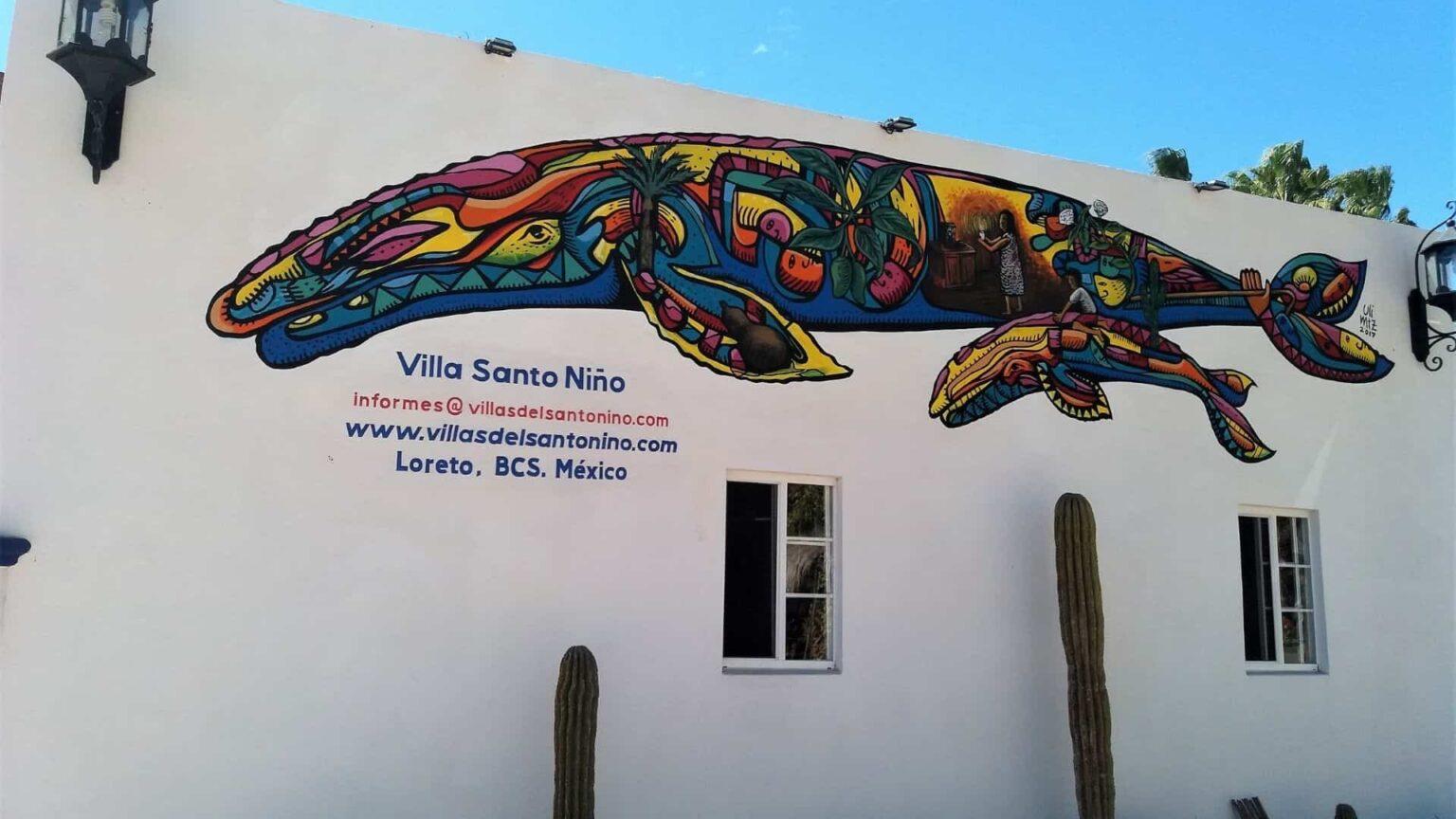 le street-art dans le nord du Mexique