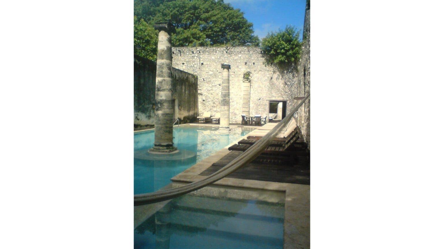 galerie photos voyage Mexique , une hacienda transformée en hôtel de luxe