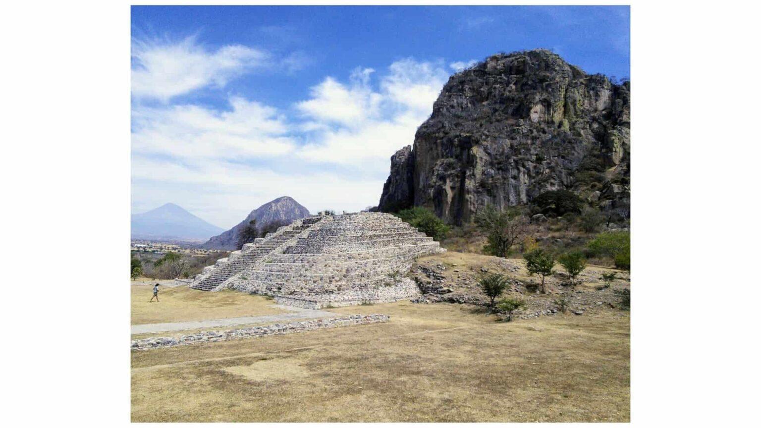 galerie photos voyage Mexique , site arquéologique de Chalcatzingo