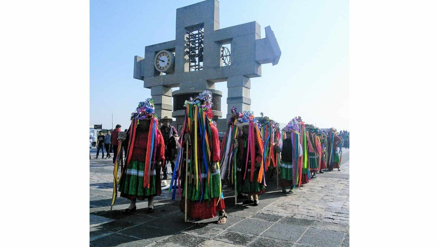 galerie photos voyage Mexique , cérémonie à la Basilique de Guadaloupe