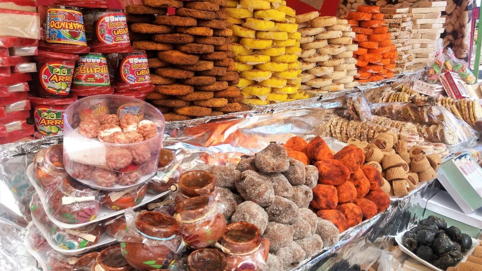 galerie photos voyage Mexique ,les douceurs du marché
