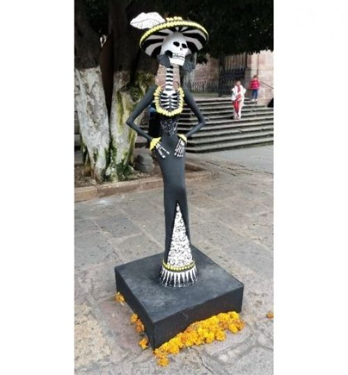 la Catrina , une incontournable de la Fête des morts au Mexique